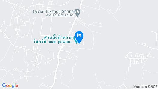 Suan Phueng Pa Wai Resort Map