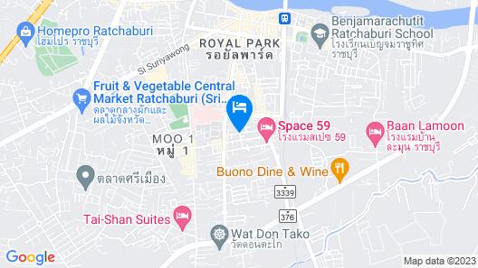 S.Swiss Hotel Ratchaburi Map