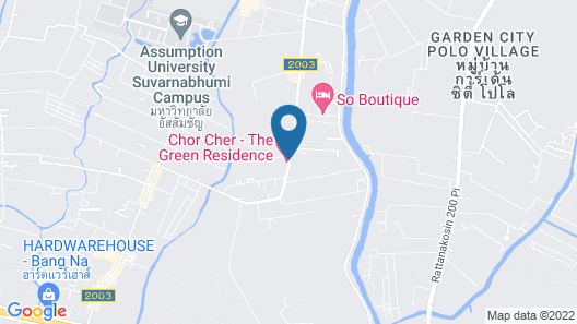 Chor Cher - The Luxury Green Hotel Map