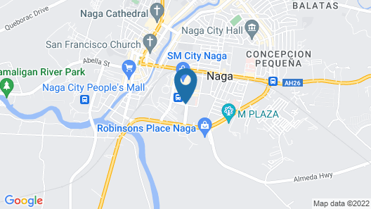 Hotel Sogo Naga City Map