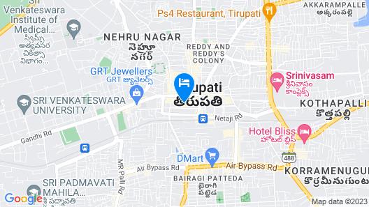 Sri Sai Residency Map