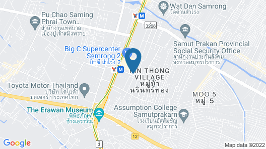 Cost-Effective, 450 meters from BTS with Sky Pool (bkbloft10) Map
