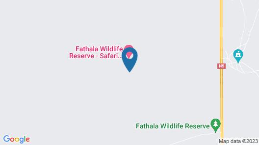 Fathala Wildlife Reserve Map