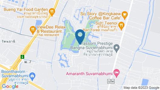 Le Meridien Suvarnabhumi, Bangkok Golf Resort & Spa Map
