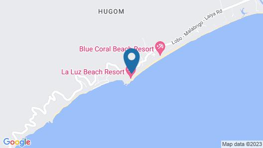 La Luz Beach Resort Map