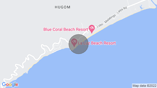 Beach Front House Sleeps 20 Laiya-Hugom, San Juan Batangas Map