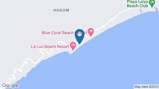 Antipolo Beach Haus Annex Map