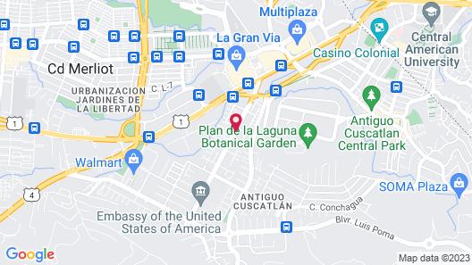 Holiday Inn San Salvador, an IHG Hotel Map