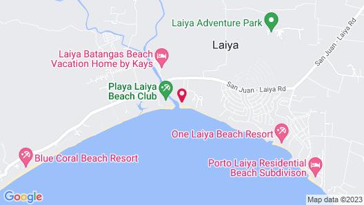 Laiya White Cove Beach Resort Map