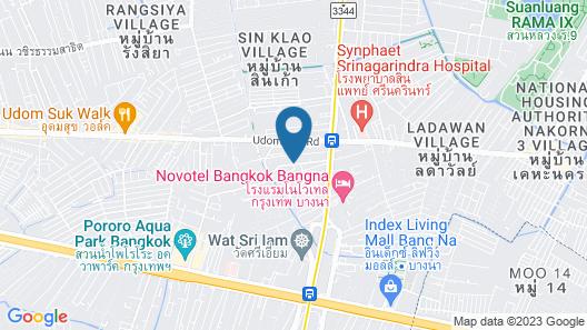 Romance Hotel Bangna Map