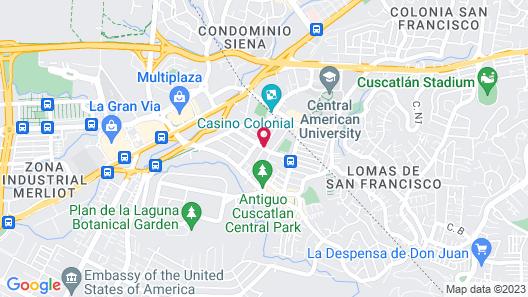 Hotel Alicante San Salvador Map