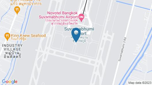 Avagard Capsule Hotel - Suvarnabhumi Airport Map