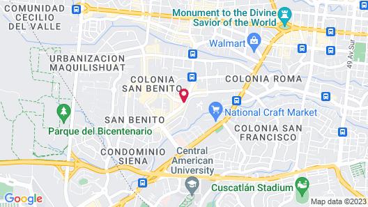 Barceló San Salvador Map