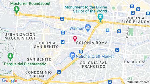 Suites & Apartments San Benito Flats Map