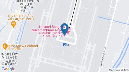 Miracle Transit Hotel Map