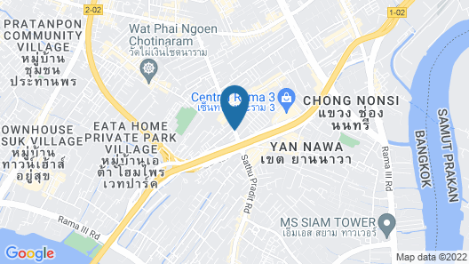 Vann Bangkok Boutique House Map