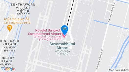 Novotel Bangkok Suvarnabhumi Airport Map