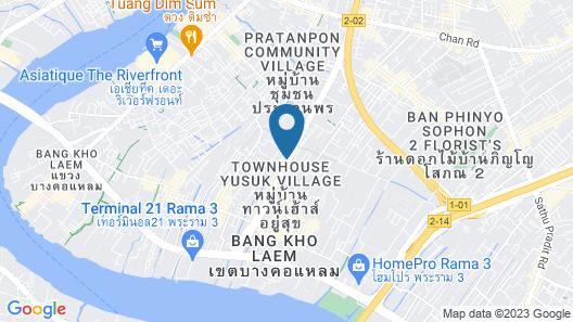 Grand Howard Hotel Map