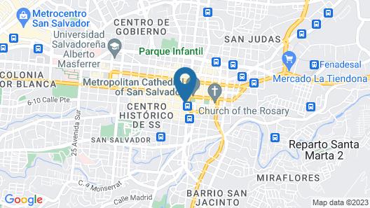 Hotel El Palacio Map