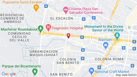 Best Western Plus Hotel Terraza Map