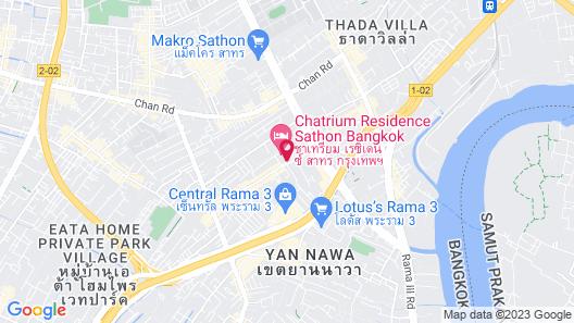 Chatrium Residence Sathon Map