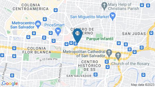 Hotel Villa Florencia Centro Map