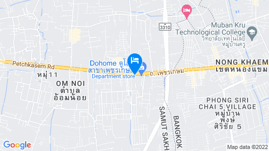 Jolly Suites Petkasem Map