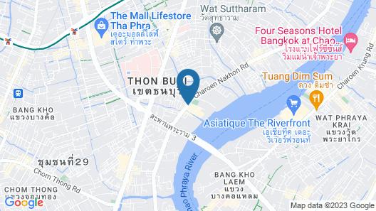 Avani+ Riverside Bangkok Hotel Map