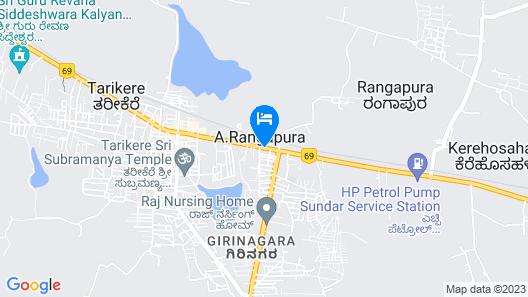 SPOT ON 37504 Mayura Hotel And Lodge Map