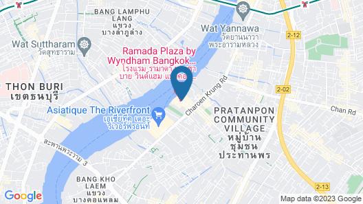 Ramada Plaza by Wyndham Bangkok Menam Riverside Map