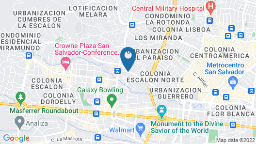 Hotel Gardenia Inn Map
