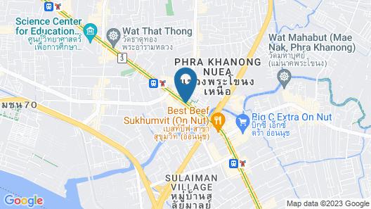 ibis Styles Bangkok Sukhumvit Phra Khanong Map