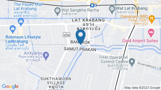 Ammata Lanta Resort Map