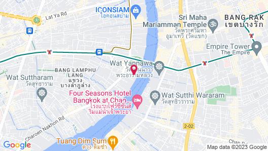 ibis Bangkok Riverside Map