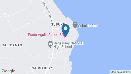 Punta Aguila Resort & Hotel Map