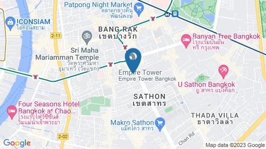 Marriott's Bangkok Empire Place Map