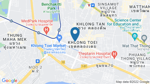 Pillow Pillow House Sukhumvit-Rama4 Map