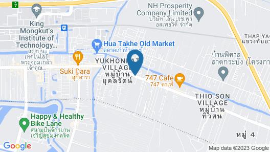 Golden Foyer Suvarnabhumi Airport Hotel Map