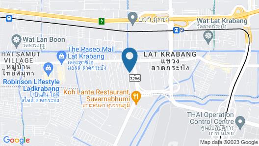 BS RESIDENCE Suvarnabhumi Map