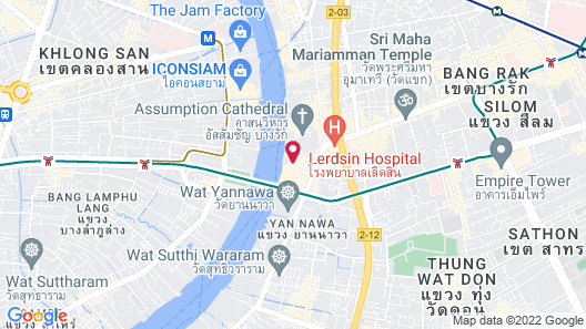 Shangri-La Bangkok Map