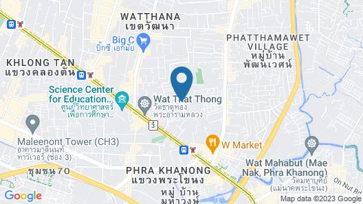 24: Vacation Townhome - near BTS Ekamai Map