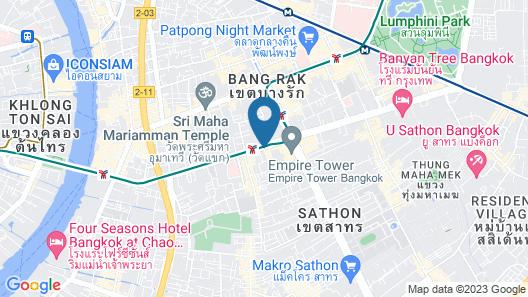 Ascott Sathorn Bangkok Map