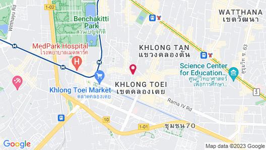 The Davis Bangkok Hotel Map
