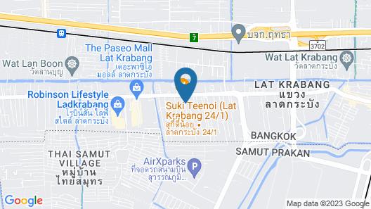 At Residence Suvarnabhumi Hotel Map
