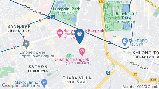 Pantip Suites Sathorn Map