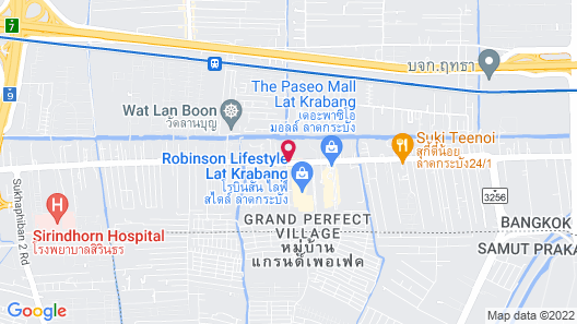 The Park Nine Hotel Suvarnabhumi Map