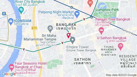W Bangkok Map