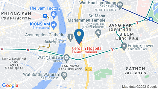Tower Club at lebua (The World's First Vertical Destination) Map