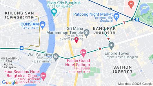 Holiday Inn Bangkok Silom Map