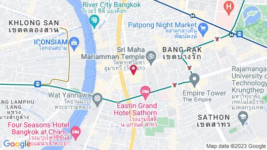 Holiday Inn Bangkok Silom, an IHG Hotel Map